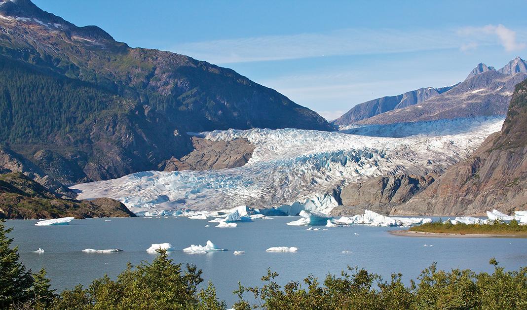Public bus to mendenhall glacier | Visting Alaska